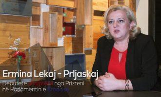 Deputetja shqiptare në Kroaci Ermina Lekaj në mbështetje të Shaqir Totaj për kryetar të Prizrenit (Video)