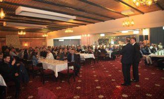 Qindra përkrahës të LDK-së në një tubim familjar në Gjilan – përkrahin Hazirin
