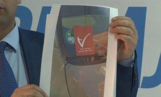 PDK në Prishtinë akuzon VV-në për shpërndarje të fletushkave