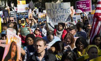 Protestohet para Shtëpisë së Bardhë kundër ndalesës së udhëtimit