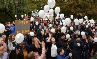 Belgët protestojnë kundër dëbimit të familjes kosovare