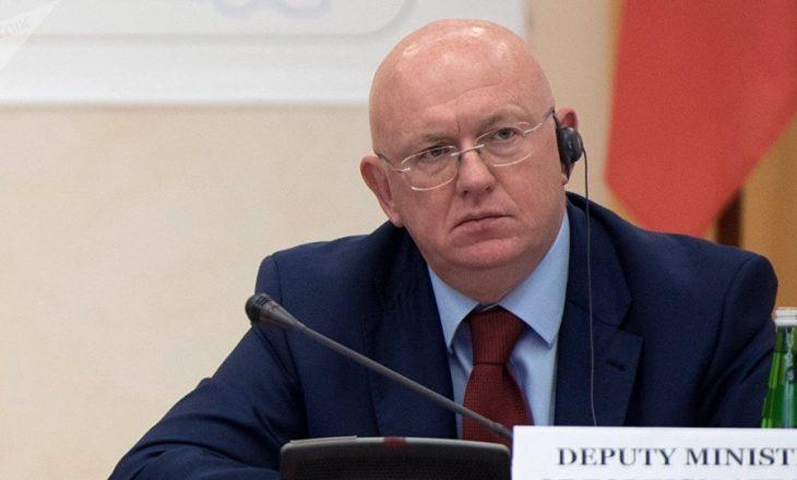 Akuzat e Rusisë në OKB ndaj Kosovës
