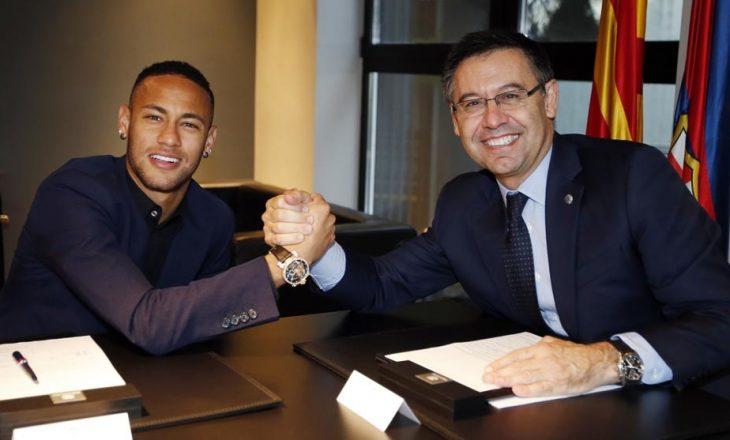 Neymar filloi të qajë, për të tentuar të ndalë transferimin e tij në PSG