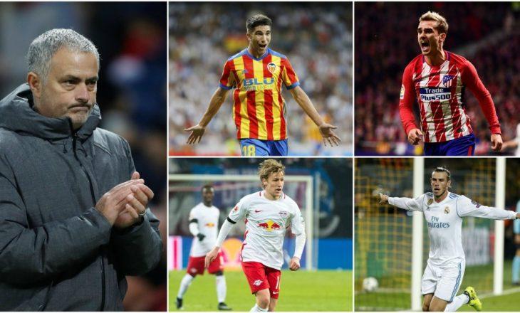 Manchester United i premton Mourinhos katër blerje të reja