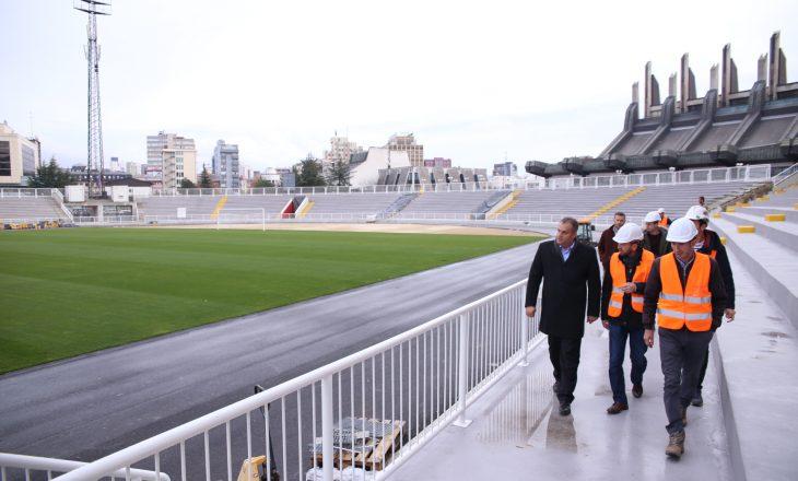Premtimi i Shpend Ahmetit për stadiumin e Prishtinës