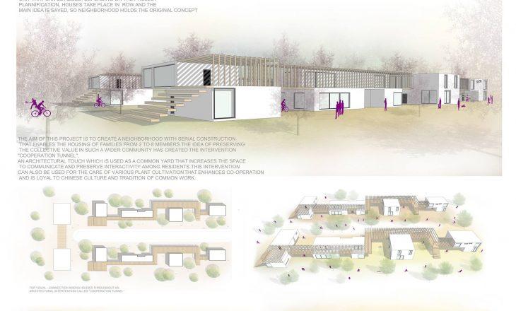 Studentja kosovare Vildane Maliqi finaliste në konkursin e arkitekturës në Kinë