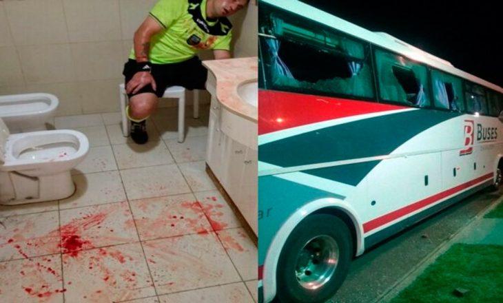 Dhunohet brutalisht arbitri