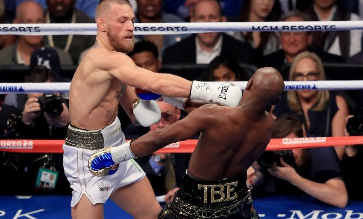 McGregor kërkon rimeç ndaj Floydit: Do ta mposhtja vogëlushin në çfarëdo formati