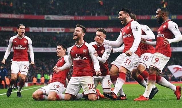 Arsenal shënon dy gola kundër Tottenham