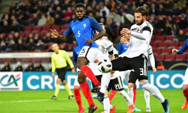 Miqësorja e luksit mes Francës e Gjermanisë mbyllet në barazim