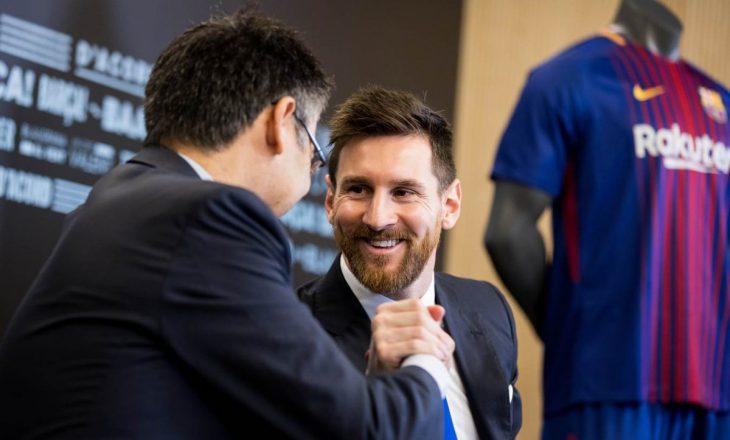 Paga e kontratës së re të Leo Messit, 'çmend' Ronaldon