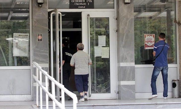 """Seanca gjyqësore për lëndët """"Trust"""" dhe """"300"""" në Gjykatën Penale në Shkup"""