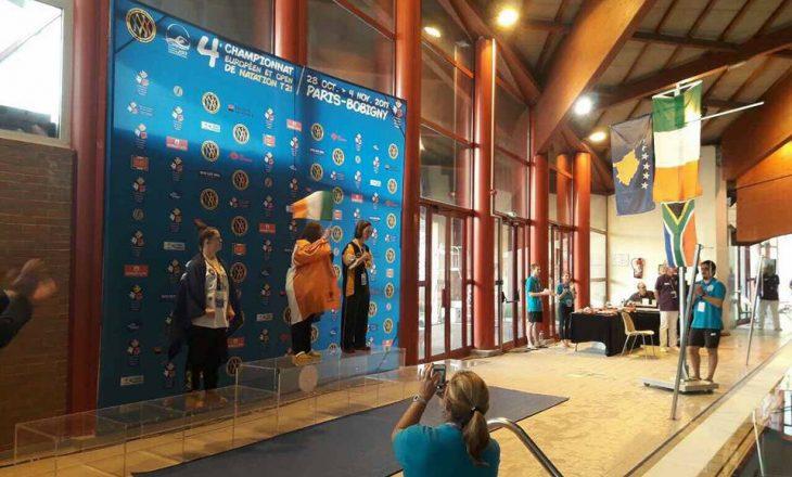 Medina merr medaljen e Argjend në Francë në Kampionatin Evropian për persona me sindromën Down