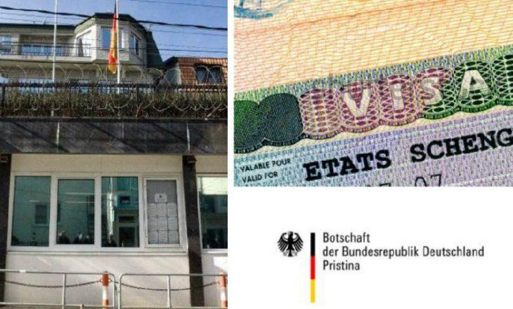Shtetet me përqindjen më të lartë të lëshimit të vizave për kosovarët