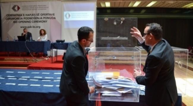 AKP: Ceremonia e dorëzimit dhe hapjes së ofertave-shitja përmes likuidimit 37