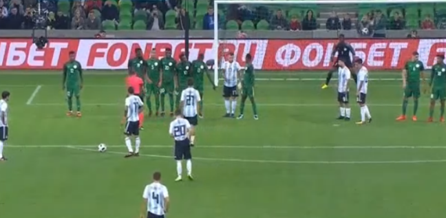 Argjentina shënon supergol në miqësoren ndaj Nigerisë [Video]