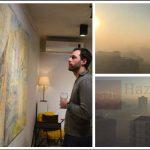 Artisti që ia pa hairin ndotjes së ajrit në Prishtinë