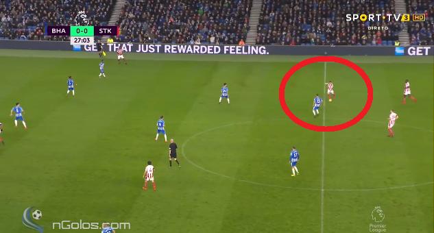 Shaqiri dhuron asist nga mesi i fushës te goli i Stoke Cityt [Video]