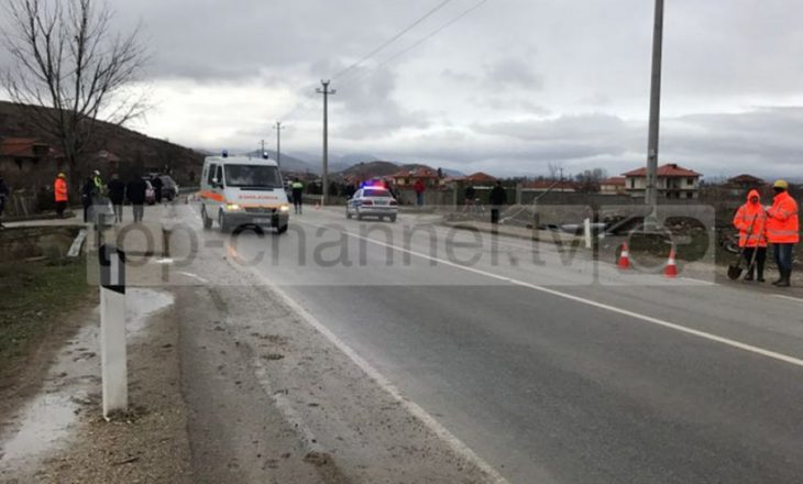 Eskorta e Ramës aksidenton 3 persona në Korçë, 2 prej tyre në gjendje të rëndë