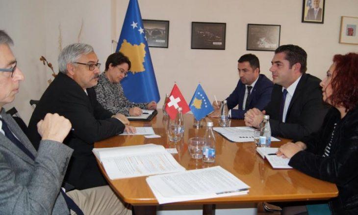 Zvicra dhe Kosova thellojnë bashkëpunimin ekonomik