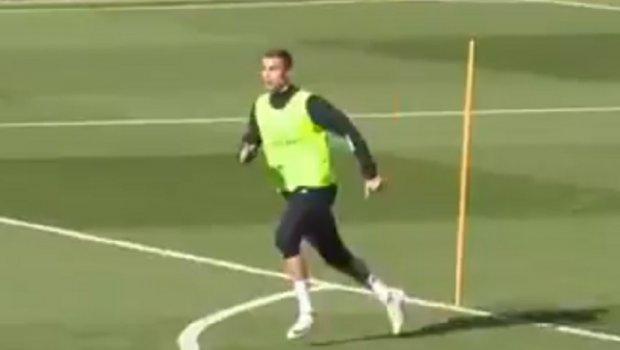 Ronaldo shënon supergola në stërvitje me Realin [Video]