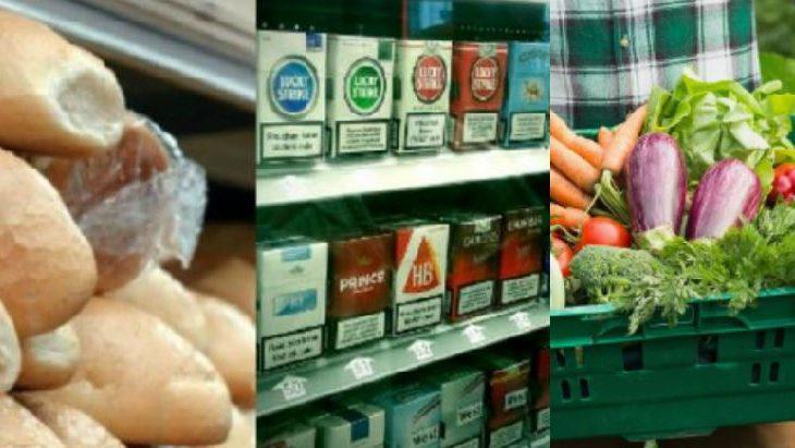 Për një muaj rriten çmimet e bukës, perimeve dhe cigareve