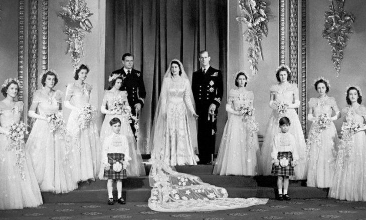 70 vjet martesë të mbretëreshës Elizabeth