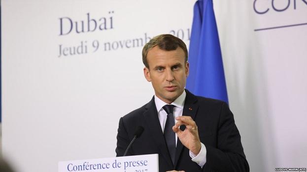 Emmanuel Macron viziton Arabinë Saudite