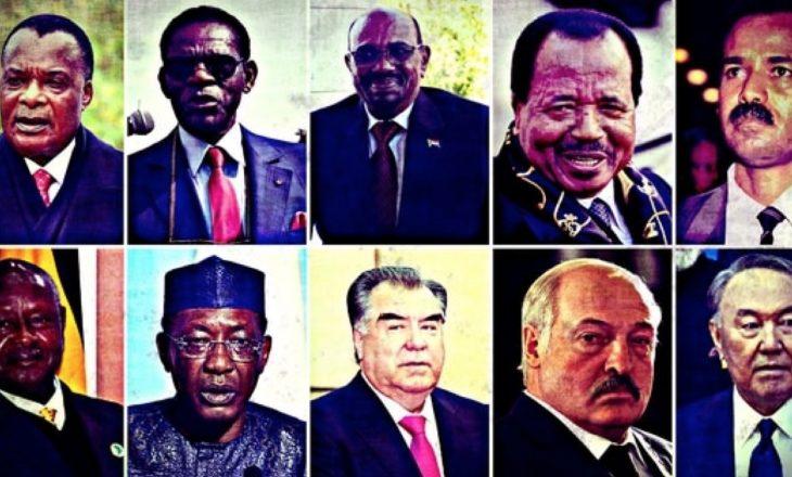 Mugabe iku, por janë edhe 10 diktatorë jetëgjatë në pushtet