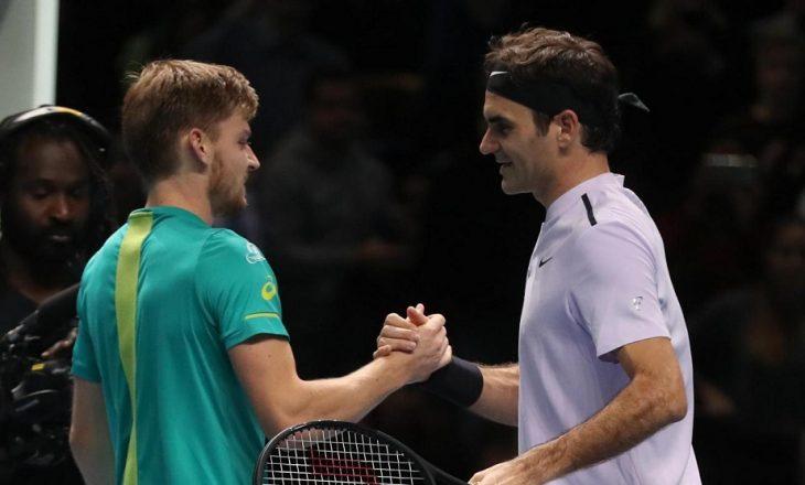 Ndodh befasia në Londër, eliminohet Roger Federer