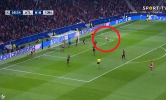 Atletico – Roma, gol spektakolar nga Griezmann [Video]