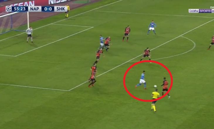 Insigne shënon golin e sezonit në Ligën e Kampionëve [Video]