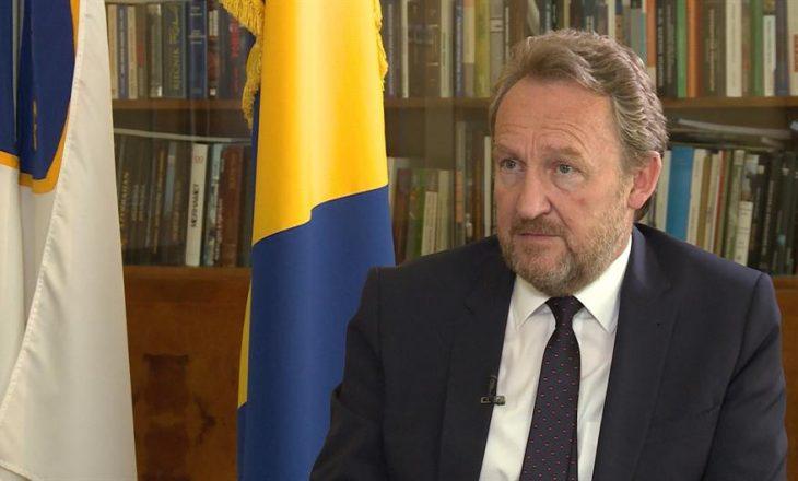 Izetbegoviq paralajmëron njohjen e Kosovës nga Bosnja dhe Hercegovina