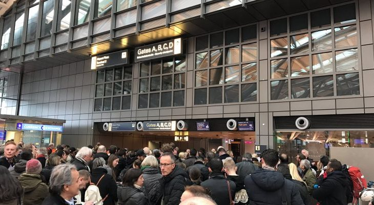 Arratisja e shqiptarit në Gjermani shkakton kaos në aeroport