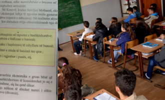 """""""Pavarësia ekonomike e gruas po i prishë familjet"""" – mesazhi skandaloz që mësojnë nxënësit në Kosovë"""