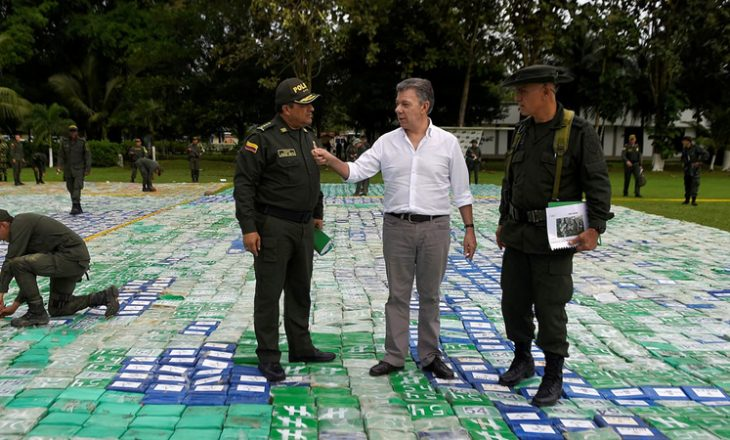 Zbulohet sasi rekorde e kokainës në Kolumbi