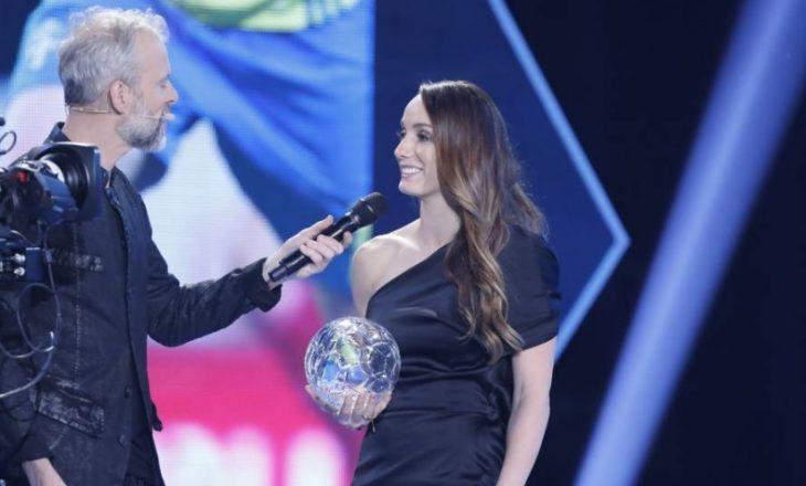Kosovare Asllani shpallet futbollistja më e mirë e vitit në Suedi