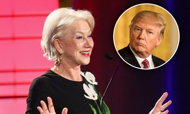 Helen Mirren do të luajë rolin e presidentit Donald Trump