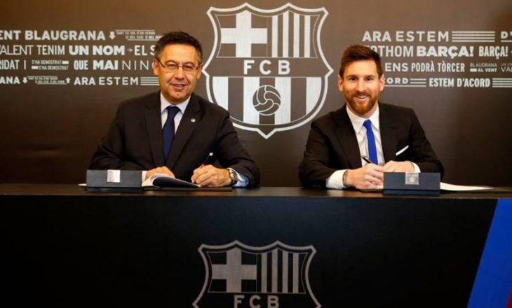 700 milionë euro peshon kontrata e re e Messit