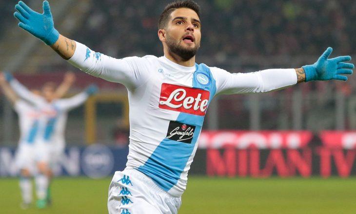 Formacionet zyrtare: Napoli – Milan