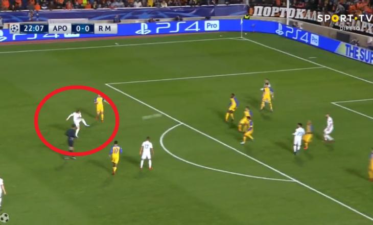 Shënohet supergol në ndeshjen APOEL – Real Madrid [Video]