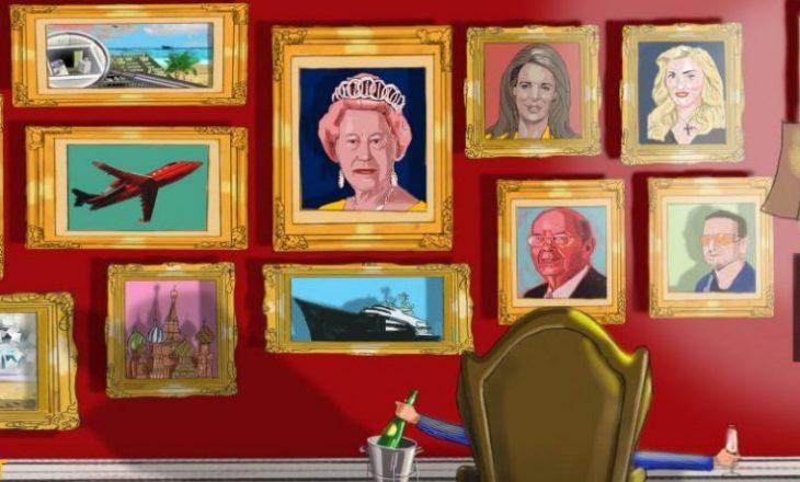 Tronditet Britania e Madhe, Mbretëresha përfshihet në skandalin e fshehjes së parave