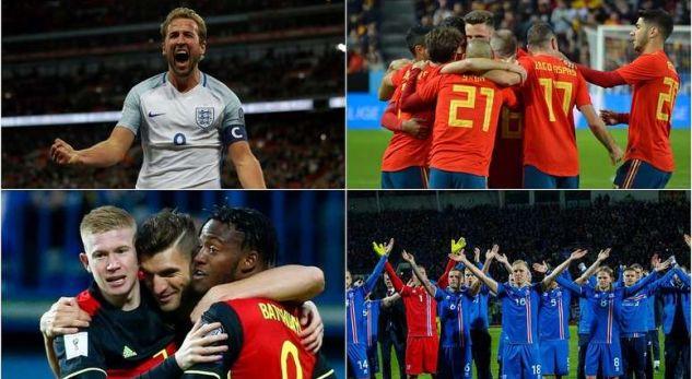 Kombëtaret evropiane që janë kualifikuar deri më tani për Kupën e Botës