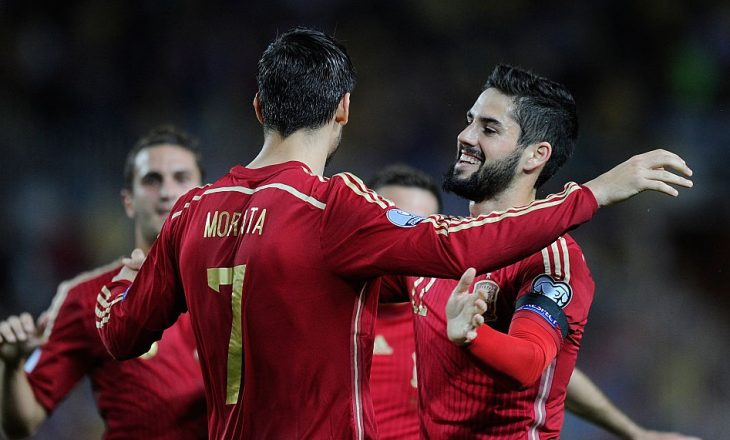 Formacionet zyrtare: Rusia – Spanja