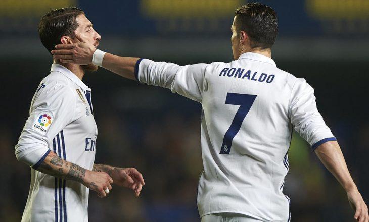Përplasja mes Ronaldos dhe Ramosit