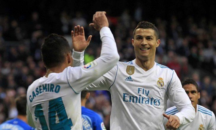 Real Madridi me vështirësi e mposht Malagan [Video]