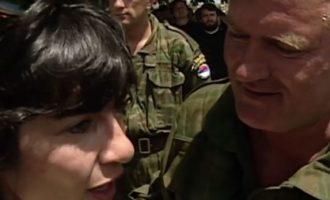 """Reporterja e famshme amerikane rrëfen për ditën kur e ka njohur """"Kasapin e Bosnjës"""""""