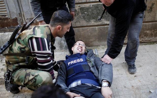 Gjatë luftës civile në Siri u vranë 634 gazetarë