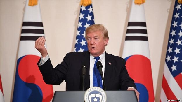 Trump kërkon veprim mbarëbotëror kundër Koresë Veriore