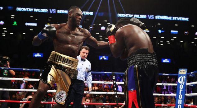 """Wilder i shpall luftë Joshuas: Eja në ring, mos ikë më"""""""